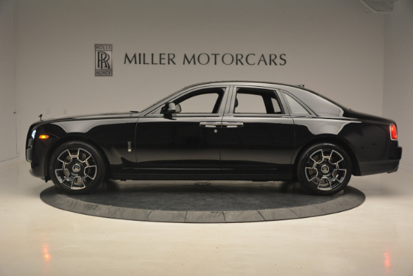 New 2017 Rolls-Royce Ghost Black Badge for sale Sold at Rolls-Royce Motor Cars Greenwich in Greenwich CT 06830 3