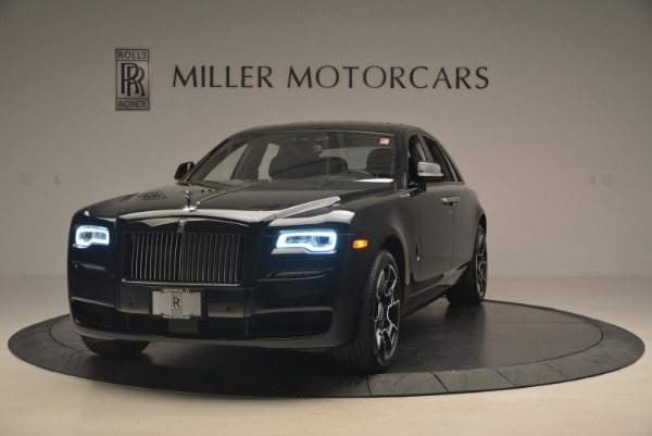 New 2017 Rolls-Royce Ghost Black Badge for sale Sold at Rolls-Royce Motor Cars Greenwich in Greenwich CT 06830 1