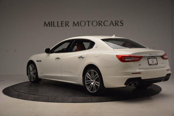 New 2017 Maserati Quattroporte S Q4 GranSport for sale Sold at Rolls-Royce Motor Cars Greenwich in Greenwich CT 06830 5