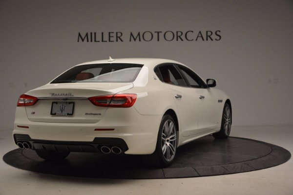 New 2017 Maserati Quattroporte S Q4 GranSport for sale Sold at Rolls-Royce Motor Cars Greenwich in Greenwich CT 06830 7