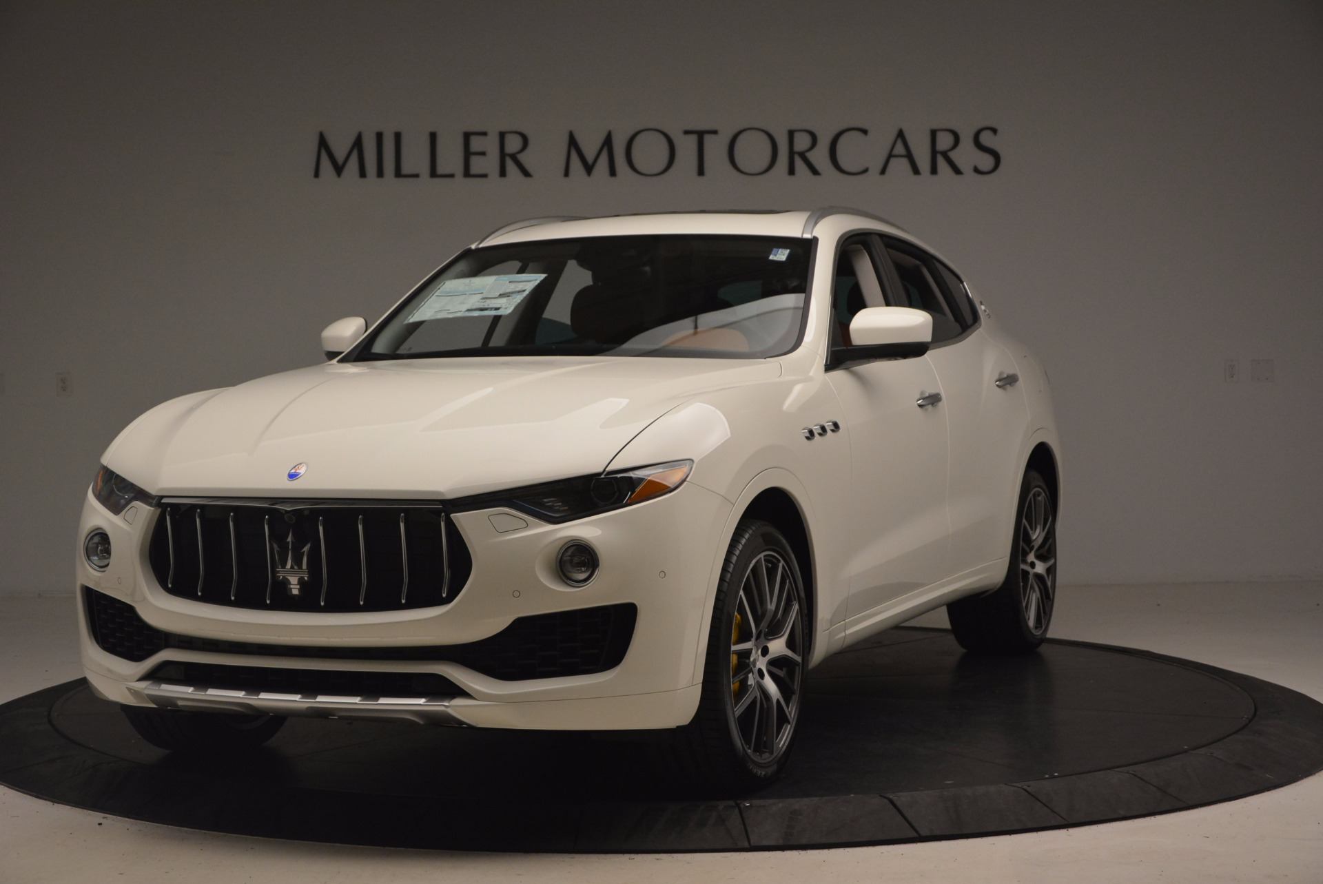 New 2017 Maserati Levante S Q4 for sale Sold at Rolls-Royce Motor Cars Greenwich in Greenwich CT 06830 1
