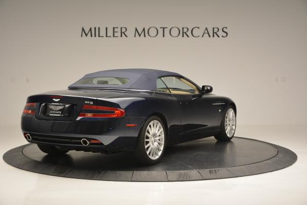Used 2007 Aston Martin DB9 Volante for sale Sold at Rolls-Royce Motor Cars Greenwich in Greenwich CT 06830 19