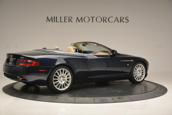 Used 2007 Aston Martin DB9 Volante for sale Sold at Rolls-Royce Motor Cars Greenwich in Greenwich CT 06830 8