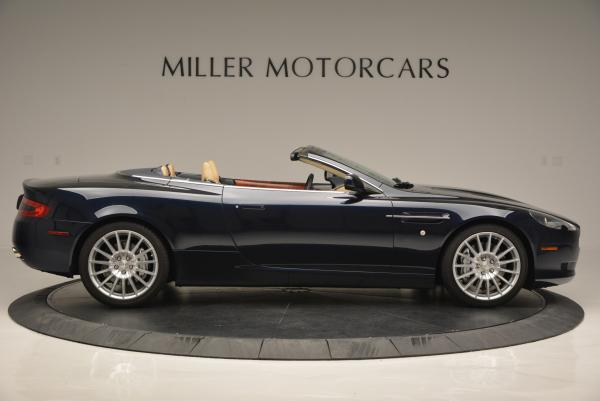 Used 2007 Aston Martin DB9 Volante for sale Sold at Rolls-Royce Motor Cars Greenwich in Greenwich CT 06830 9