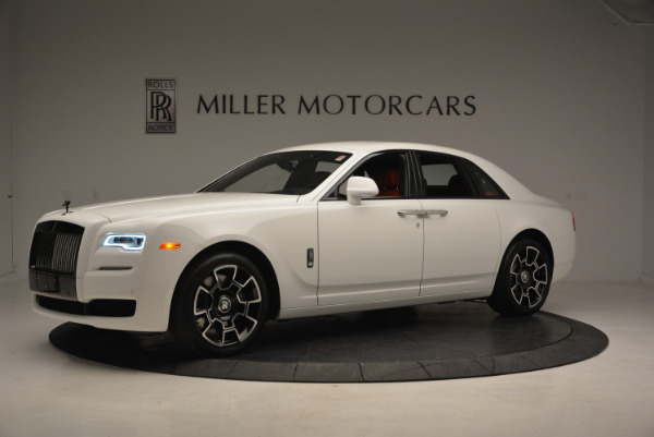 New 2017 Rolls-Royce Ghost Black Badge for sale Sold at Rolls-Royce Motor Cars Greenwich in Greenwich CT 06830 2