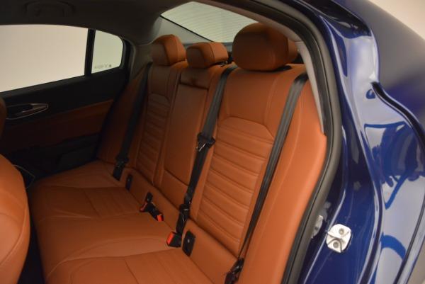 New 2017 Alfa Romeo Giulia Ti Q4 for sale Sold at Rolls-Royce Motor Cars Greenwich in Greenwich CT 06830 19