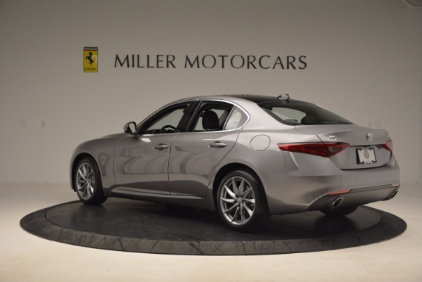 New 2017 Alfa Romeo Giulia Q4 for sale Sold at Rolls-Royce Motor Cars Greenwich in Greenwich CT 06830 5