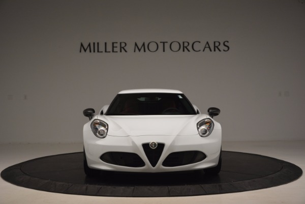 New 2016 Alfa Romeo 4C Coupe for sale Sold at Rolls-Royce Motor Cars Greenwich in Greenwich CT 06830 12