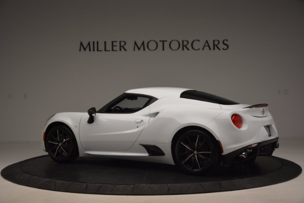 New 2016 Alfa Romeo 4C Coupe for sale Sold at Rolls-Royce Motor Cars Greenwich in Greenwich CT 06830 4
