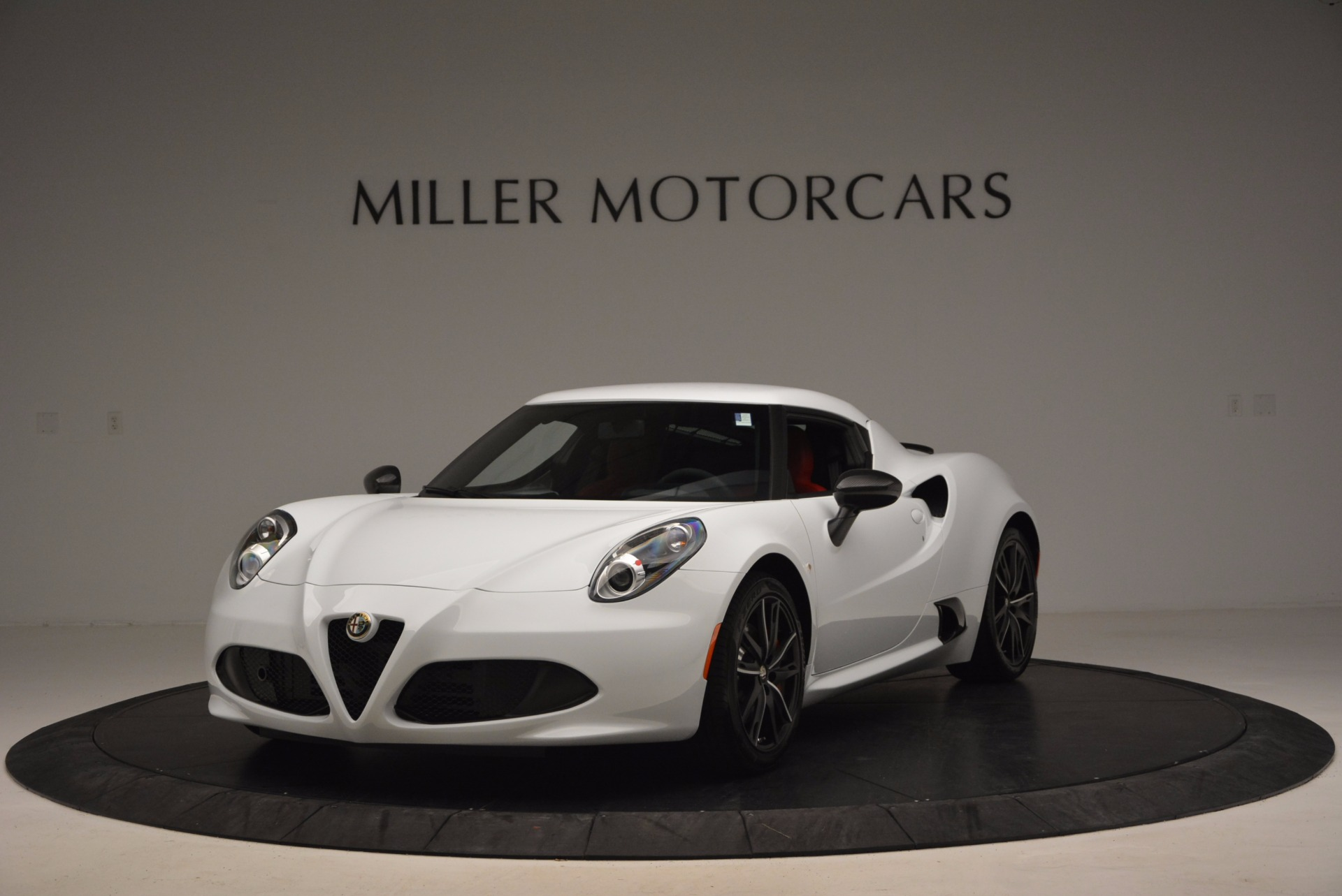 New 2016 Alfa Romeo 4C Coupe for sale Sold at Rolls-Royce Motor Cars Greenwich in Greenwich CT 06830 1