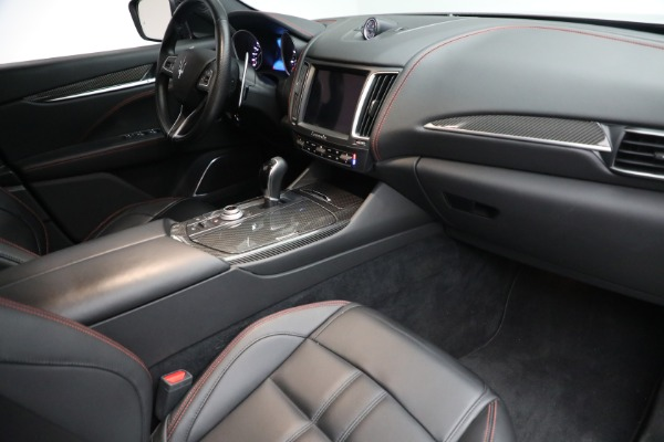 New 2017 Maserati Levante S for sale Sold at Rolls-Royce Motor Cars Greenwich in Greenwich CT 06830 18
