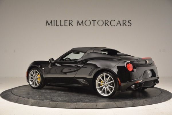 New 2016 Alfa Romeo 4C Spider for sale Sold at Rolls-Royce Motor Cars Greenwich in Greenwich CT 06830 16