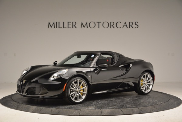New 2016 Alfa Romeo 4C Spider for sale Sold at Rolls-Royce Motor Cars Greenwich in Greenwich CT 06830 2
