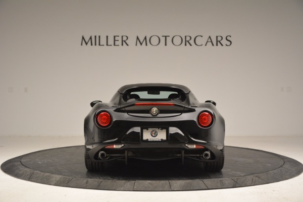 New 2016 Alfa Romeo 4C Spider for sale Sold at Rolls-Royce Motor Cars Greenwich in Greenwich CT 06830 6