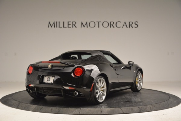 New 2016 Alfa Romeo 4C Spider for sale Sold at Rolls-Royce Motor Cars Greenwich in Greenwich CT 06830 7