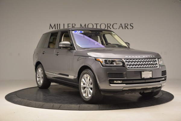 Used 2016 Land Rover Range Rover HSE TD6 for sale Sold at Rolls-Royce Motor Cars Greenwich in Greenwich CT 06830 11