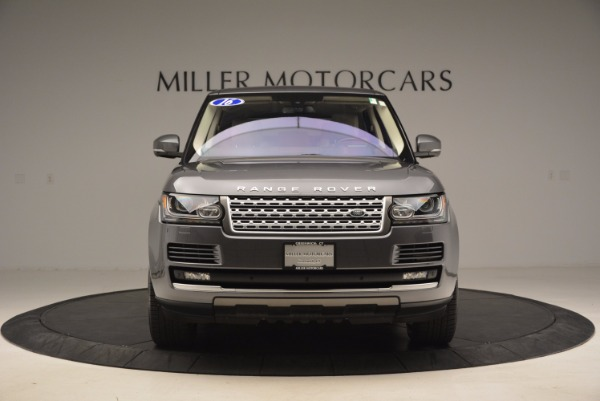 Used 2016 Land Rover Range Rover HSE TD6 for sale Sold at Rolls-Royce Motor Cars Greenwich in Greenwich CT 06830 12