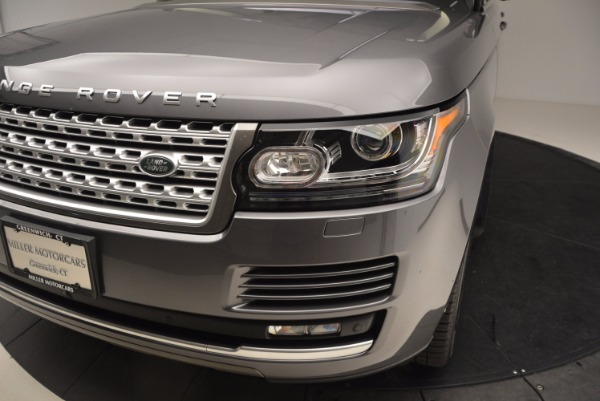 Used 2016 Land Rover Range Rover HSE TD6 for sale Sold at Rolls-Royce Motor Cars Greenwich in Greenwich CT 06830 14