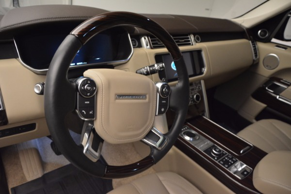 Used 2016 Land Rover Range Rover HSE TD6 for sale Sold at Rolls-Royce Motor Cars Greenwich in Greenwich CT 06830 19