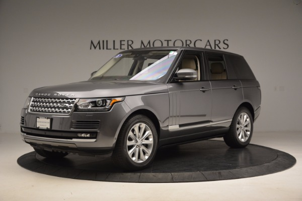 Used 2016 Land Rover Range Rover HSE TD6 for sale Sold at Rolls-Royce Motor Cars Greenwich in Greenwich CT 06830 2