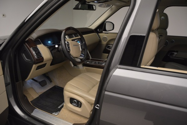 Used 2016 Land Rover Range Rover HSE TD6 for sale Sold at Rolls-Royce Motor Cars Greenwich in Greenwich CT 06830 21