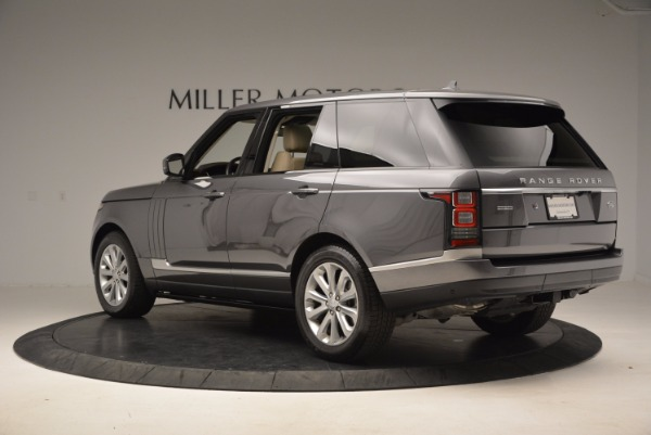 Used 2016 Land Rover Range Rover HSE TD6 for sale Sold at Rolls-Royce Motor Cars Greenwich in Greenwich CT 06830 4
