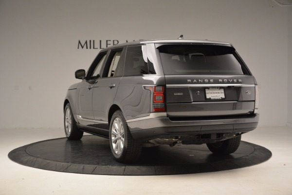 Used 2016 Land Rover Range Rover HSE TD6 for sale Sold at Rolls-Royce Motor Cars Greenwich in Greenwich CT 06830 5