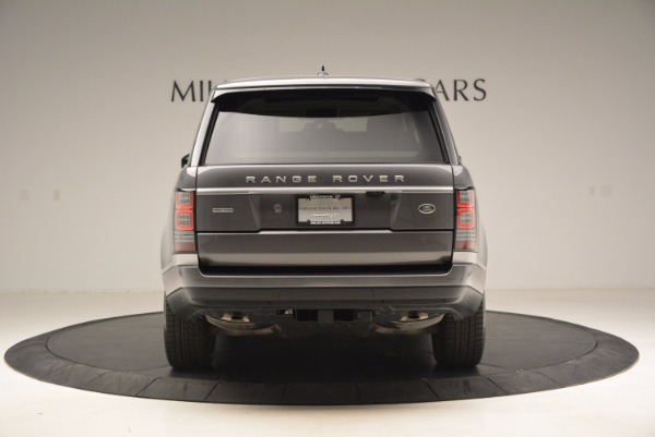 Used 2016 Land Rover Range Rover HSE TD6 for sale Sold at Rolls-Royce Motor Cars Greenwich in Greenwich CT 06830 6