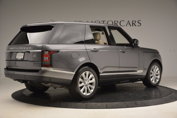 Used 2016 Land Rover Range Rover HSE TD6 for sale Sold at Rolls-Royce Motor Cars Greenwich in Greenwich CT 06830 8