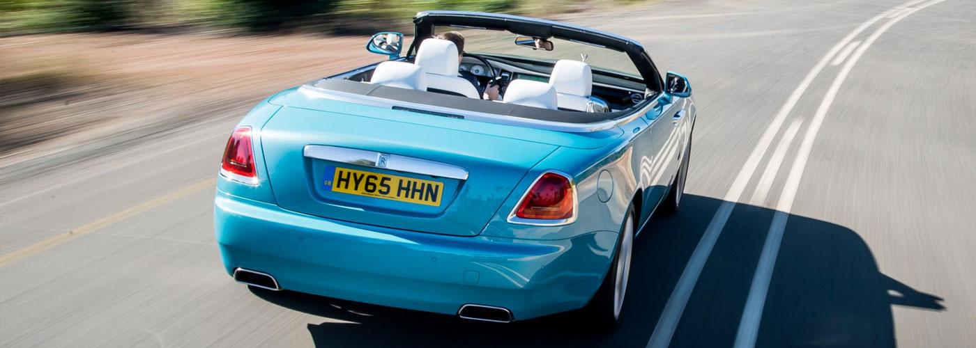 Rolls-Royce Dawn rear view