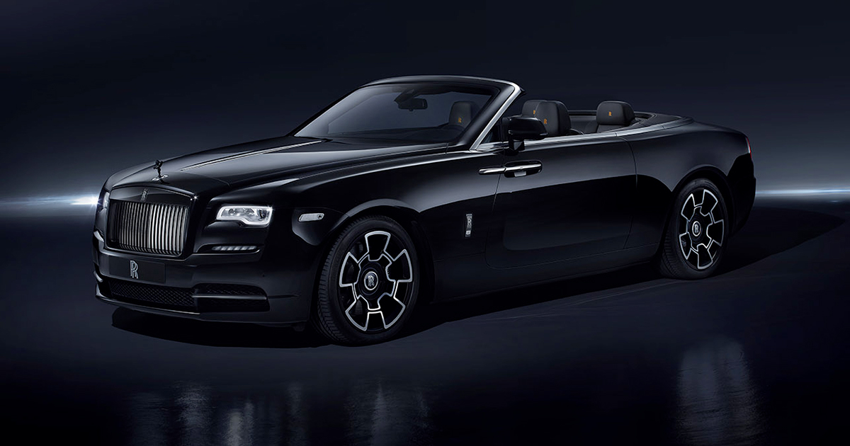 Rolls-Royce Dawn Black Badge front left view