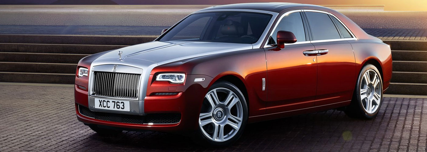 Rolls-Royce Ghost left front view
