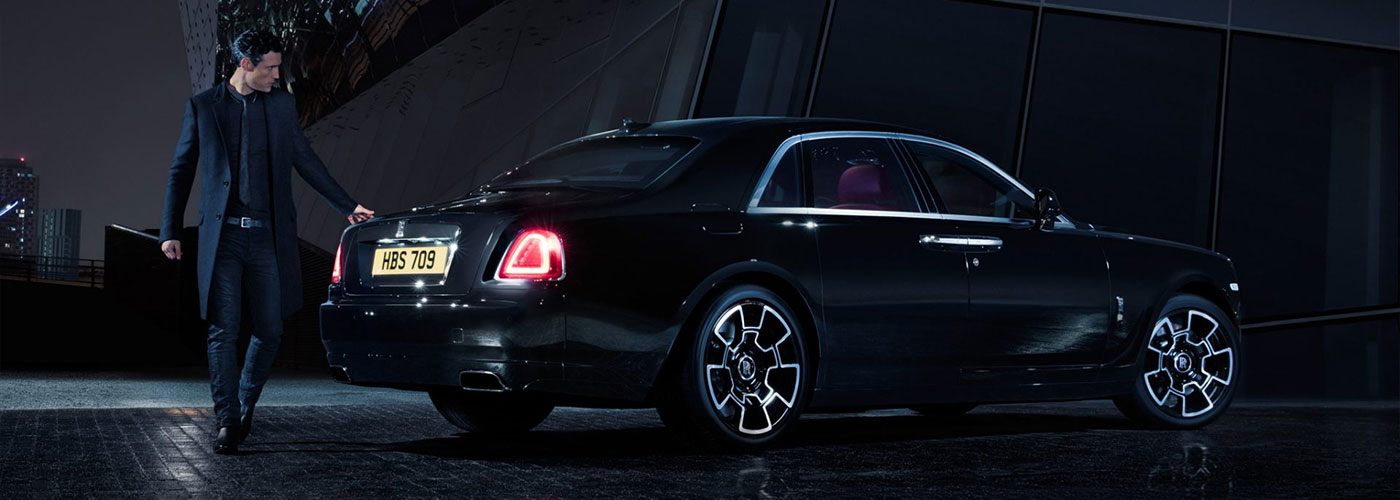 Rolls-Royce Wraith Black Badge rear view